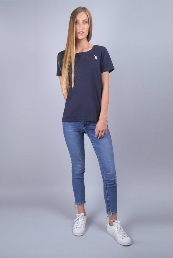T-Shirt / Navy / GOTS / Made in NL